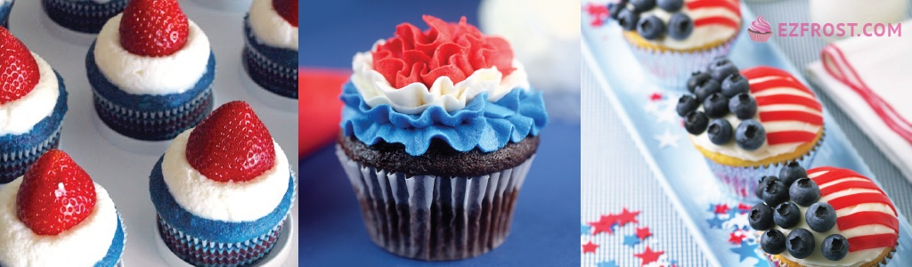 3 flag cupcakes that will help you celebrate flag day the right way