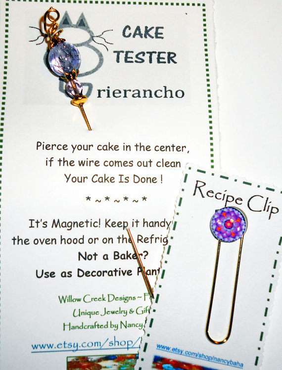 Magnetic Cake Tester